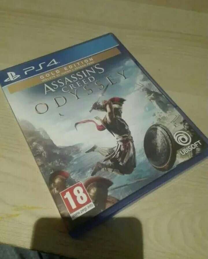 Imagen Assassins creed odyssey ps4