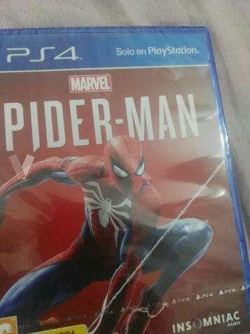 Imagen Spiderman ps4 precintado