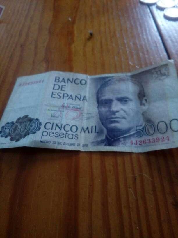 Imagen pesetas en billete