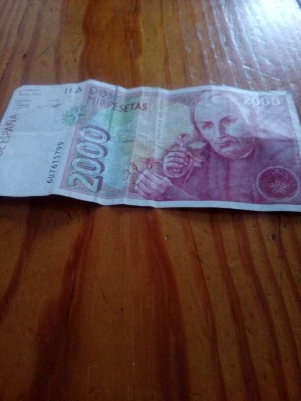 Imagen billete de 2.000 pesetas