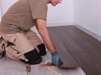 Imagen instalación parquet laminado carpintero