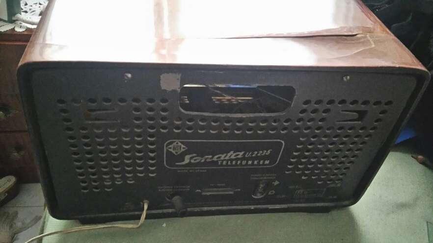 Imagen producto Radio sonata Telefunken años 50 todo original 2