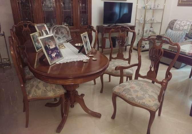 Imagen producto 2 Sillones y 4 sillas madera clásicos 4