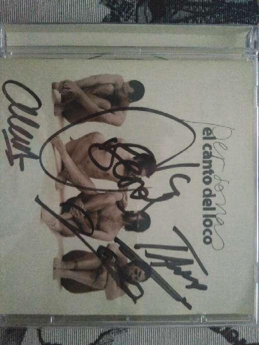 Imagen producto Discografía El Canto del Loco y CD firmado por todo el grupo 2