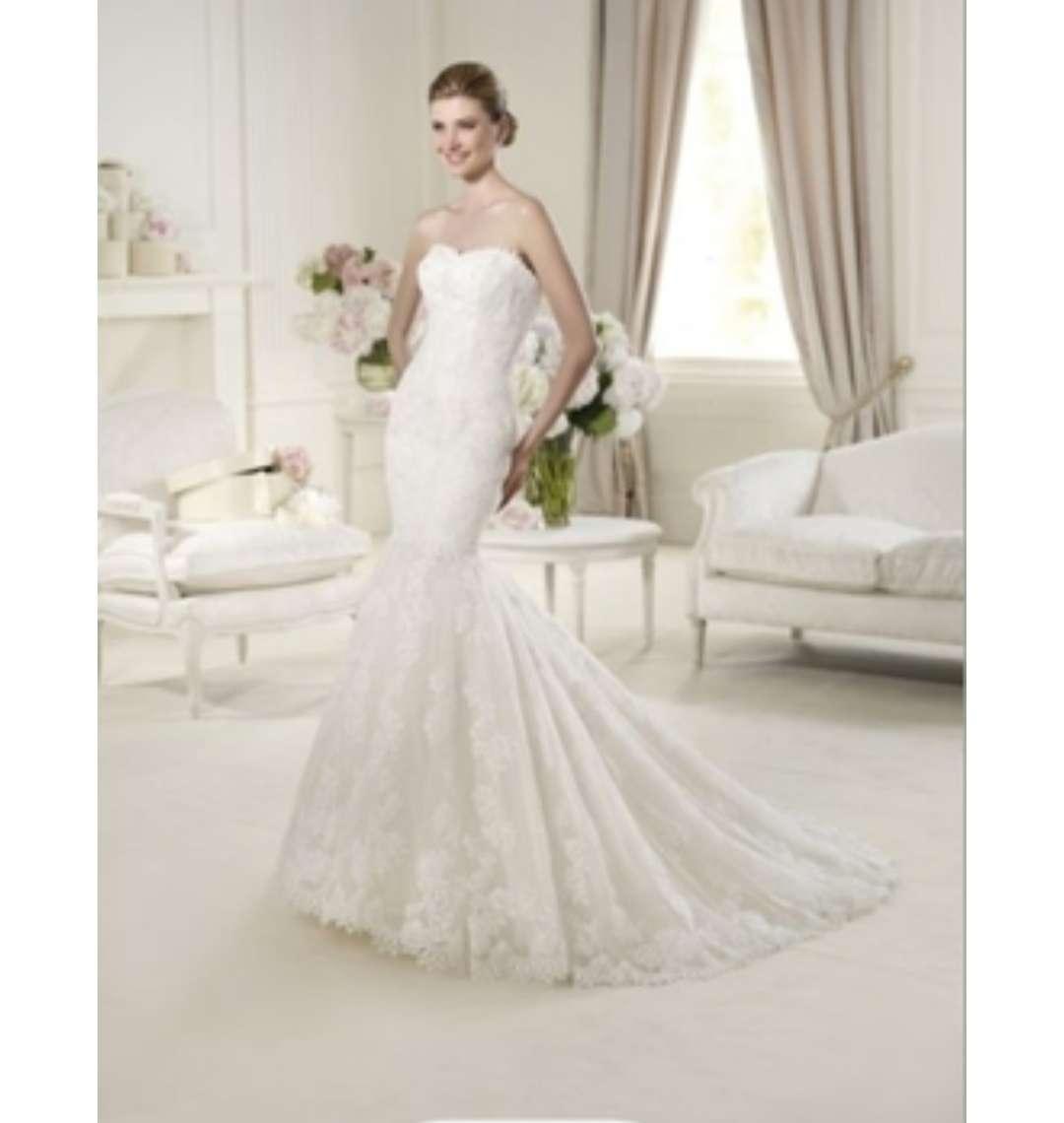 Imagen Vestido novia, firma Pronovias