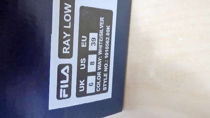 Imagen producto Playeras Fila talla 39 4