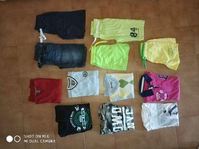 Imagen lote ropa niño T 7-9