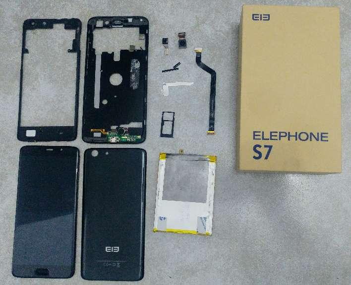 Imagen Despiece Elephone S7 Black