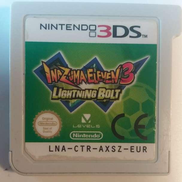 Imagen Juego Nintendo 3ds - inazuma eleven 3 lightning bolt.