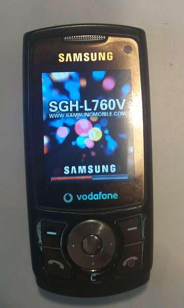 Imagen Samsung SGH-L760V cargador movil. cargador coche y cable USB, funciona bien.