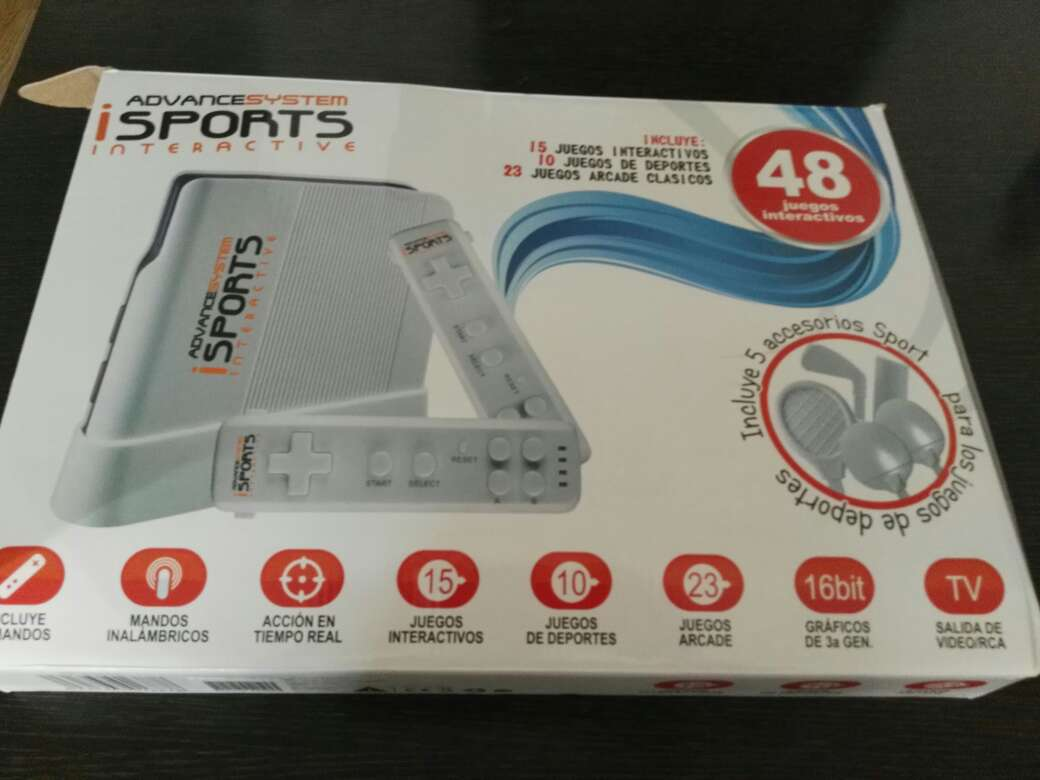 Imagen producto Consola tipo wii 2