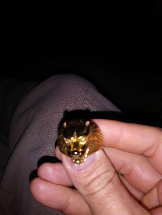 Imagen producto Anillo 9 kilates oro americano 5