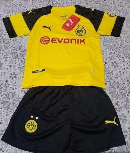 Imagen Equipaciones niños Borussia Dortmund. 2019