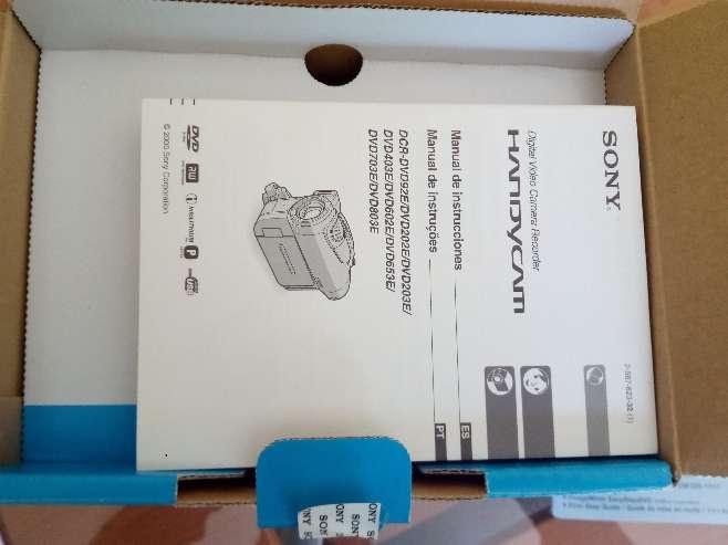 Imagen producto SONY HANDYCAM DCR-DVD203E 5