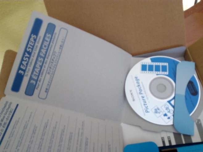 Imagen producto SONY HANDYCAM DCR-DVD203E 8