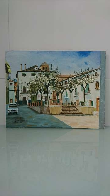 Imagen Pintura óleo sobre lienzo.