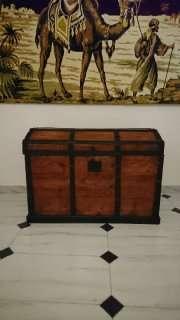 Imagen Baúl de madera.