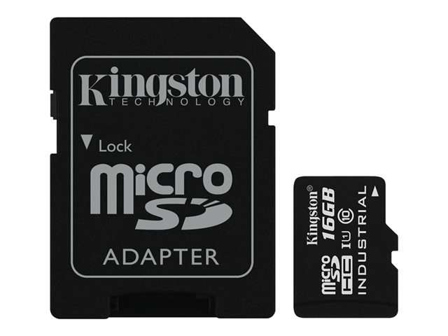 Imagen Kingston - tarjeta de memoria flash - 16 GB - micr  SDCIT/16GB