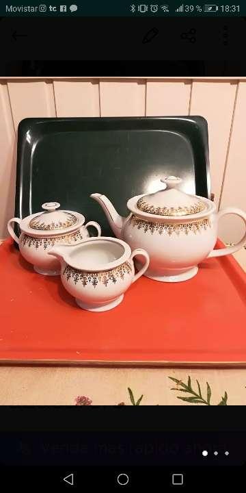 Imagen Cafetera, lechera y azucarero