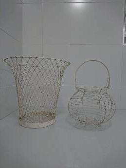Imagen producto Papelera y Huevera de hierro.  1