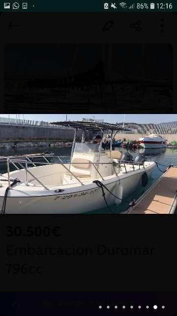 Imagen Embarcacion Duromar 796