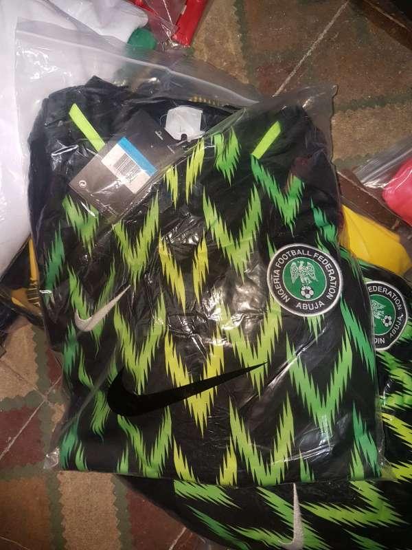 Imagen Chandals  Nigeria  entrenamiento 2019