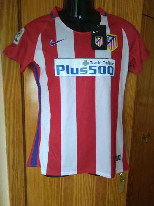 Imagen producto Camisetas chica Atlético de Madrid  1