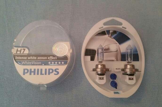 Imagen producto Bombillas Philips White Vision H7 4