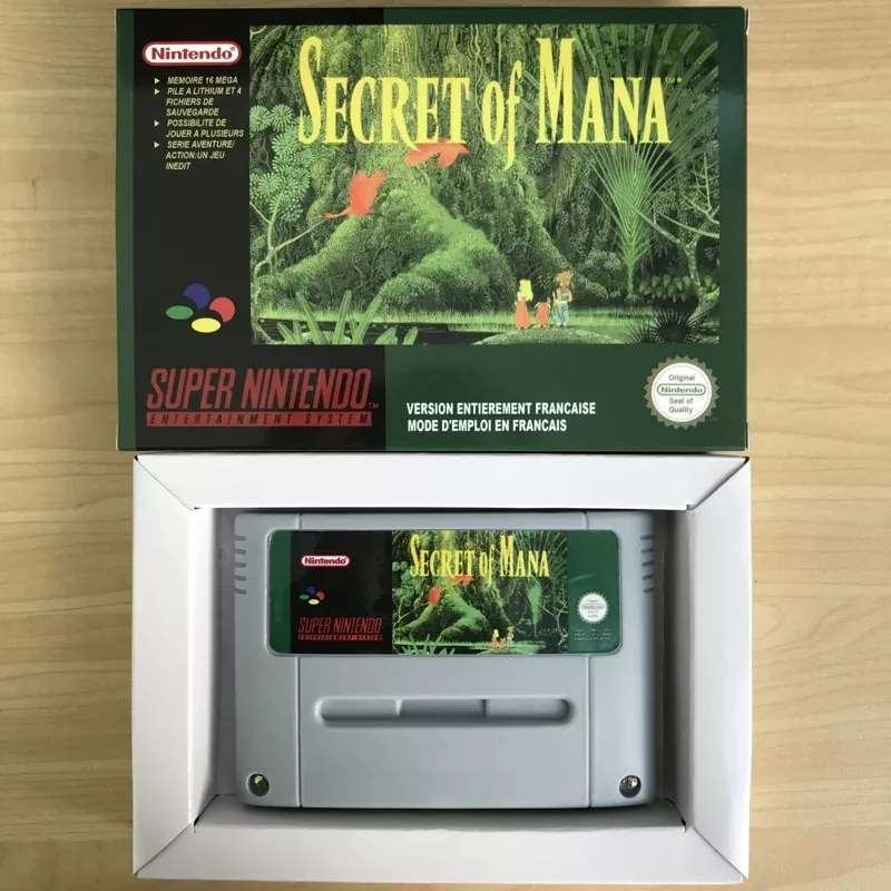 Imagen Secret of maná supernintendo