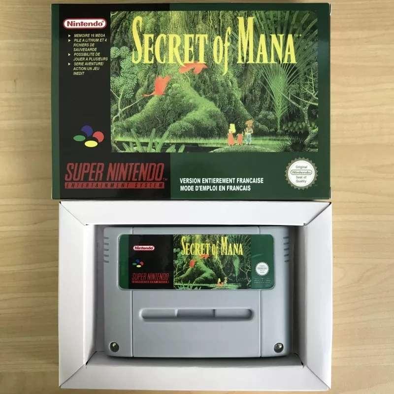 Imagen producto Secret of maná supernintendo 1