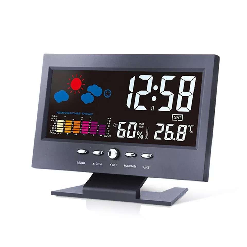 Imagen Calendario despertador digital color
