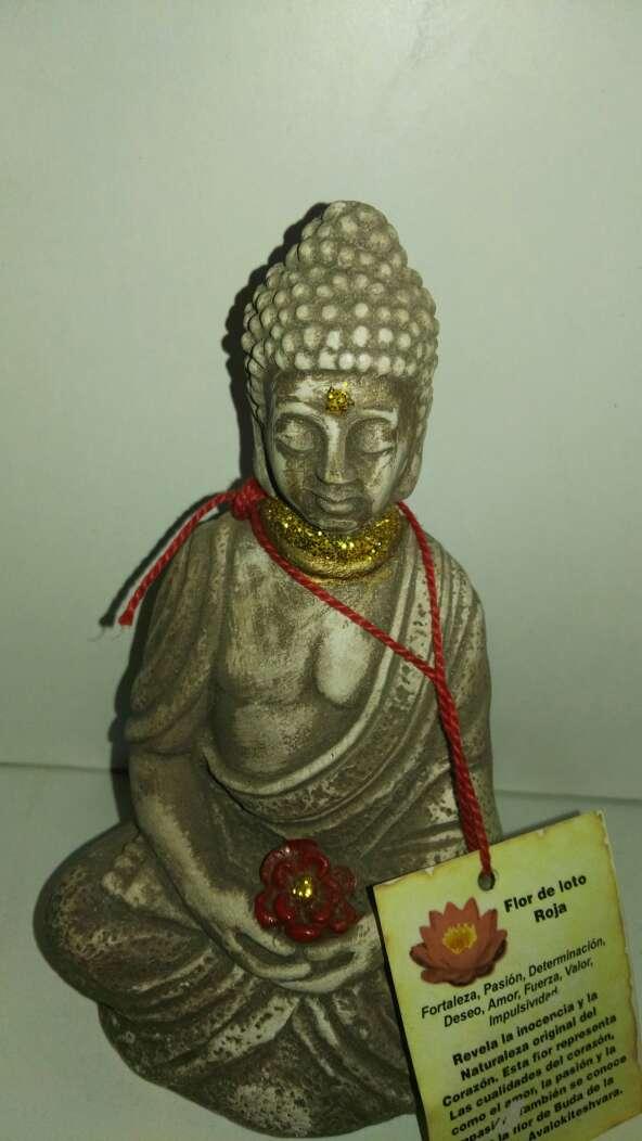 Imagen producto Buda flor de loto roja 1
