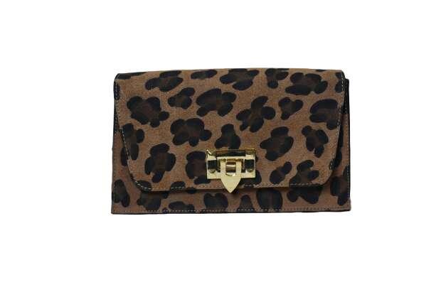 Imagen bolso de piel leopardo