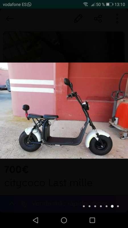 Imagen  moto citycoco