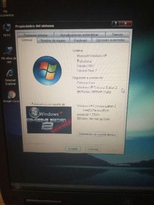 Imagen producto Portatil HP Compaq nx9030 2