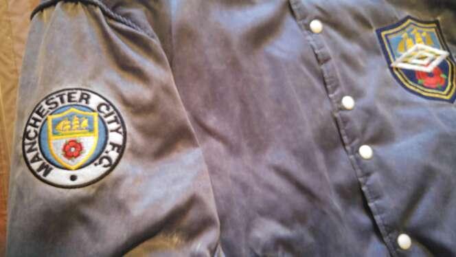 Imagen producto Manchester city sport jacket. 4