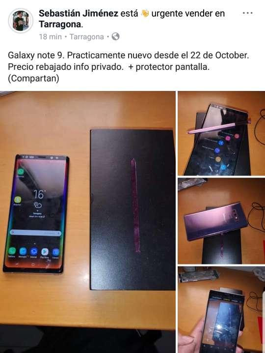 Imagen producto Galaxy note 9 3