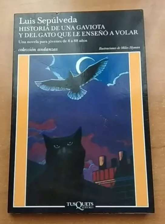 Imagen Historia de una gaviota y del gato que le enseñó a volar