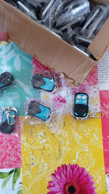 Imagen se hacen copias de mandos para puertas de garaje