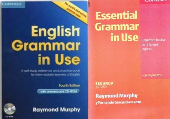 Imagen English grammar in use y Essential grammar in use.