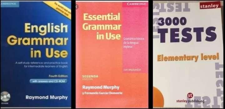 Imagen Libros de inglés y test