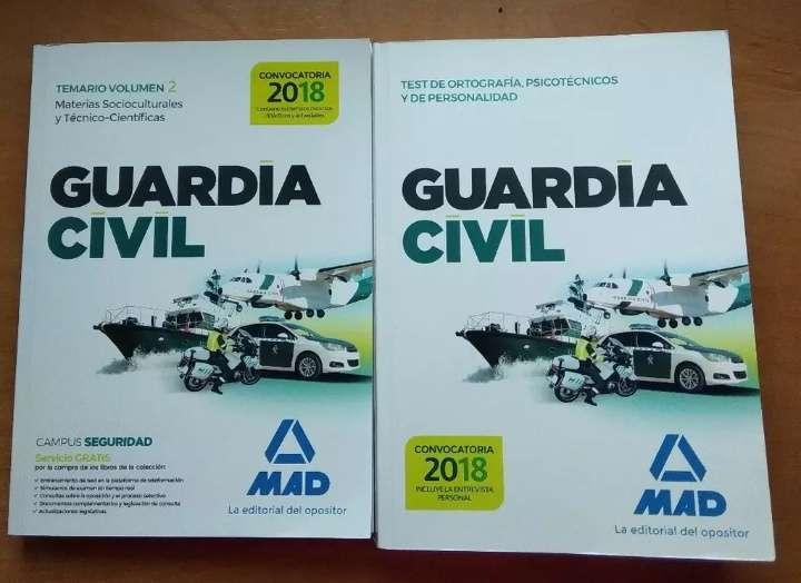 Imagen Temario Oposicion Guardia civil
