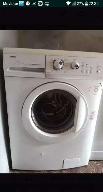 Imagen lavadora zanussi 7k 1200rpm