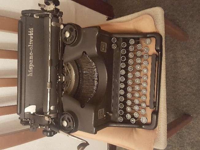 Imagen máquina de escritura