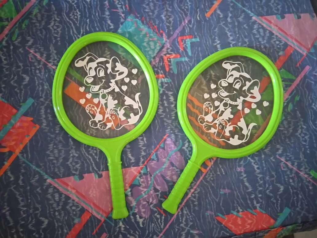 Imagen raquetas de playa