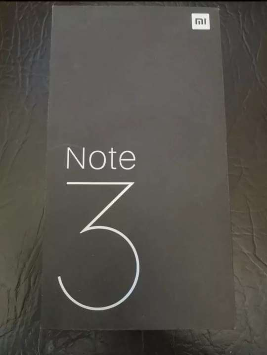 Imagen producto Xiaomi mi note 3 azul 6/64gb  1