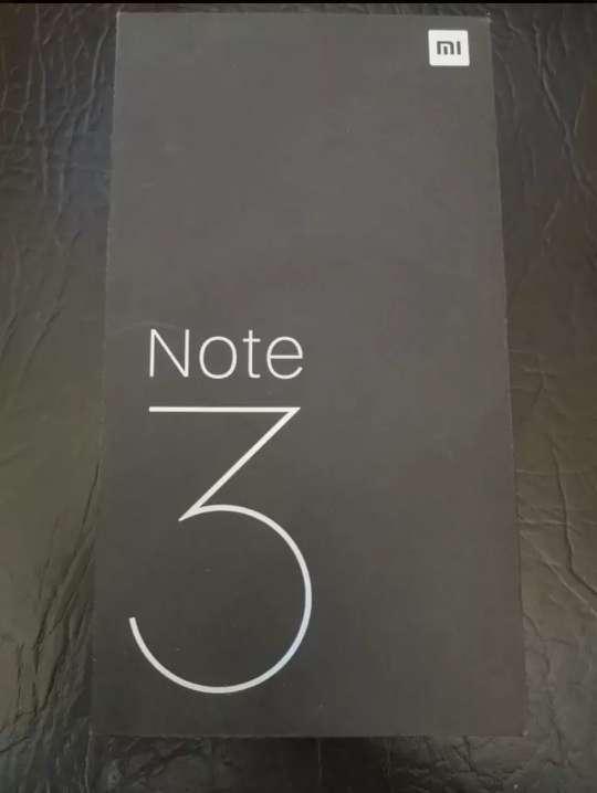 Imagen Xiaomi mi note 3 azul 6/64gb