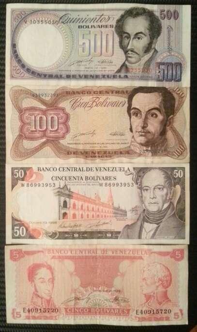 Imagen billetes del mundo . antigüedad