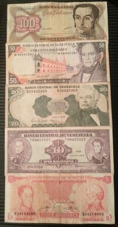 Imagen producto Billetes antiguo y moderno  4