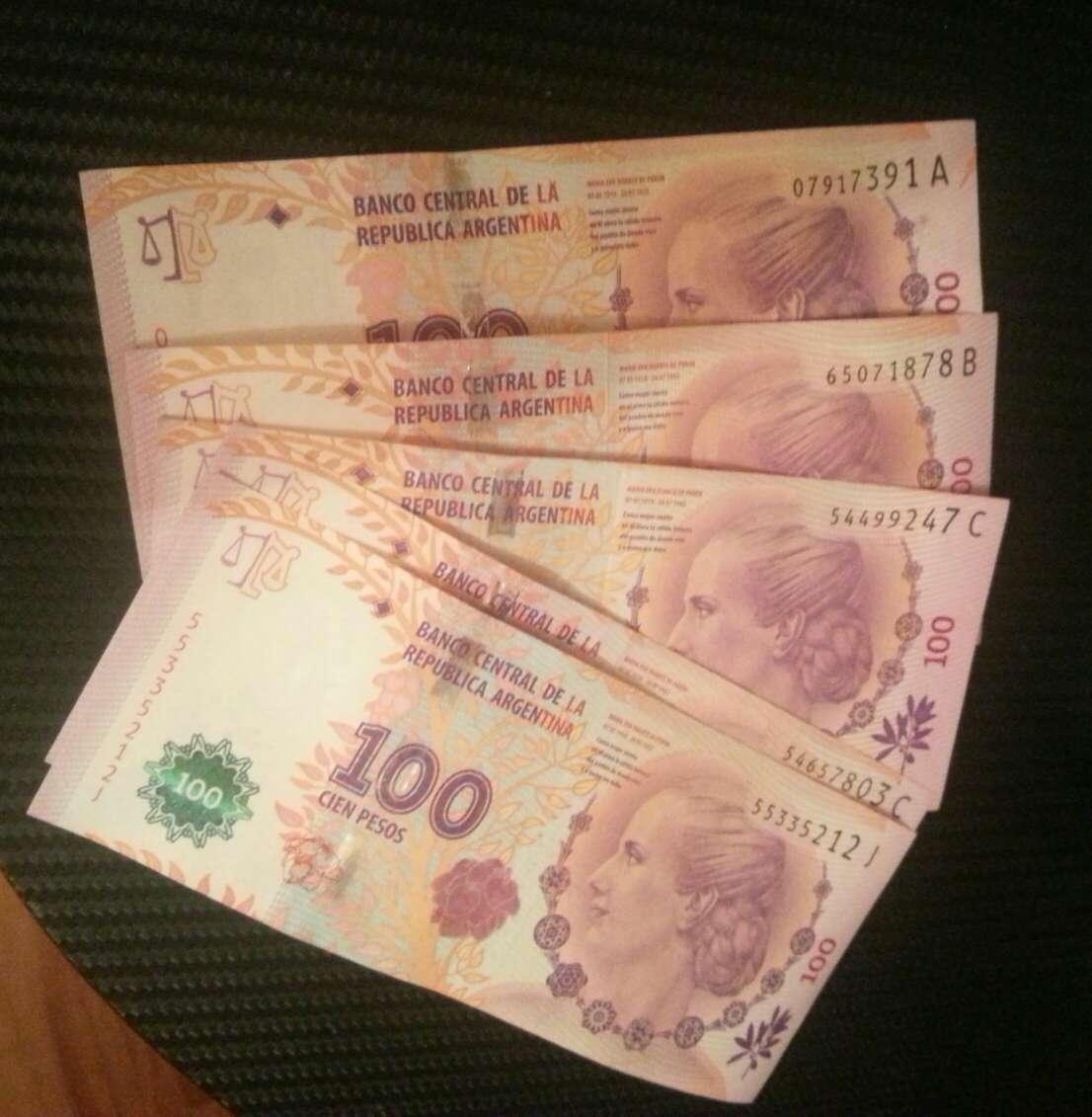 Imagen producto Pesos evita peron. argentina  6